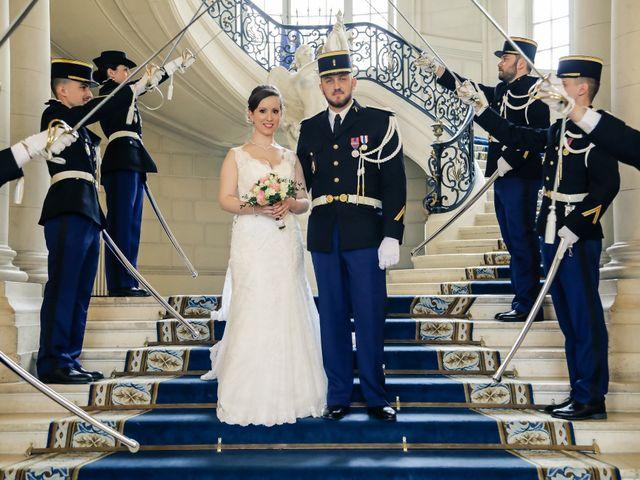 Le mariage de Alexandre et Elsa à Versailles, Yvelines 89