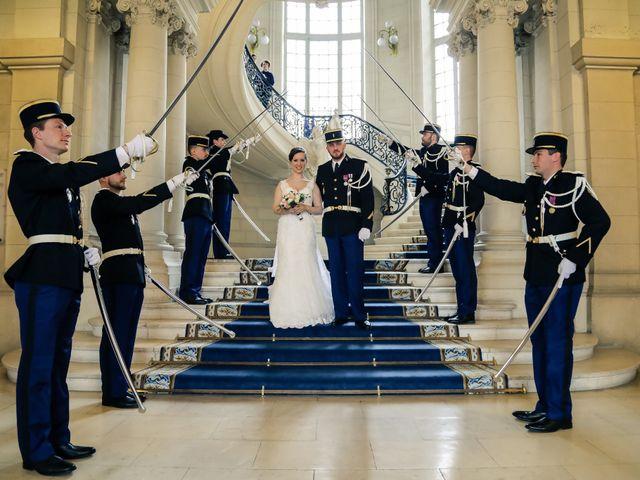 Le mariage de Alexandre et Elsa à Versailles, Yvelines 91