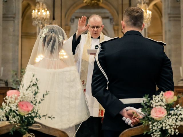 Le mariage de Alexandre et Elsa à Versailles, Yvelines 134