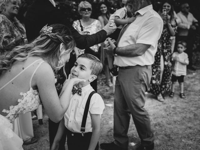Le mariage de Loic et Claire à Saint-Zacharie, Var 16