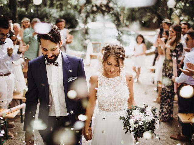Le mariage de Loic et Claire à Saint-Zacharie, Var 35