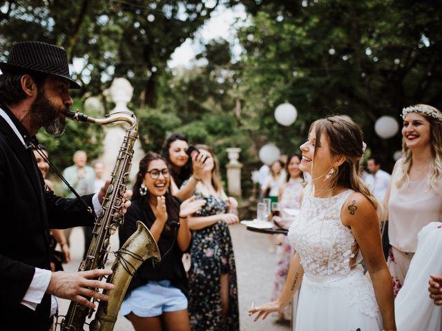 Le mariage de Loic et Claire à Saint-Zacharie, Var 40