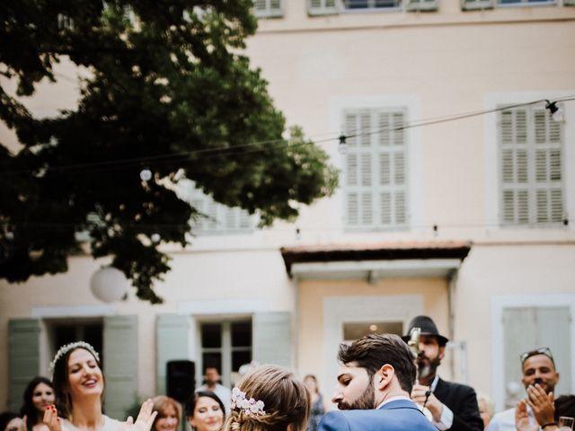 Le mariage de Loic et Claire à Saint-Zacharie, Var 42