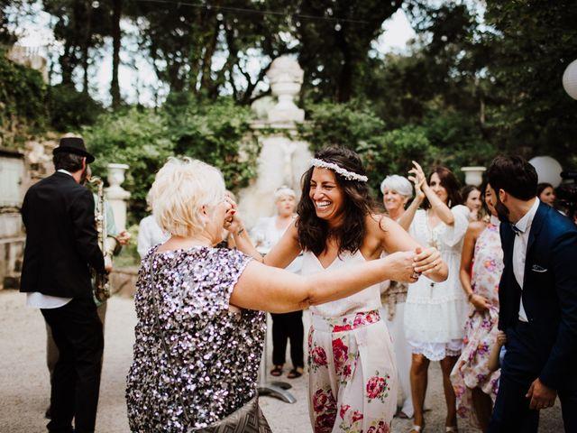 Le mariage de Loic et Claire à Saint-Zacharie, Var 43