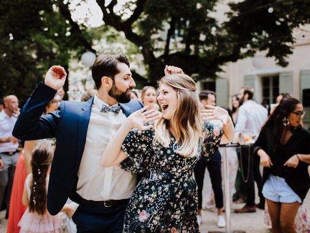 Le mariage de Loic et Claire à Saint-Zacharie, Var 44