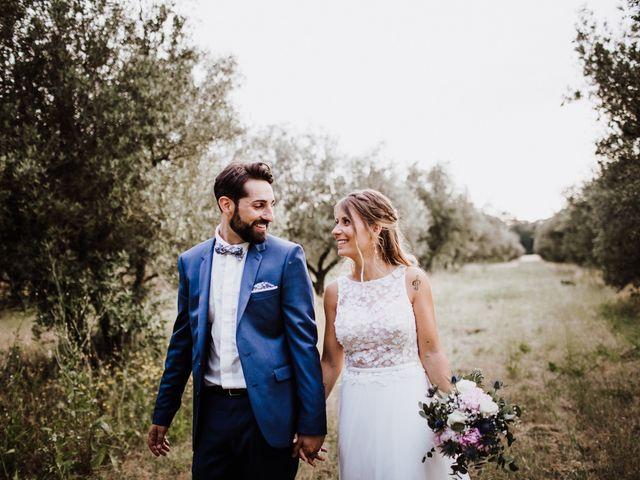 Le mariage de Loic et Claire à Saint-Zacharie, Var 45