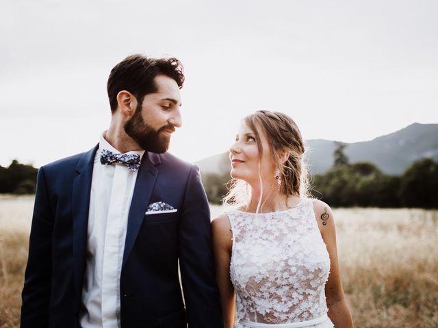 Le mariage de Loic et Claire à Saint-Zacharie, Var 46