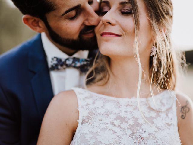 Le mariage de Loic et Claire à Saint-Zacharie, Var 54