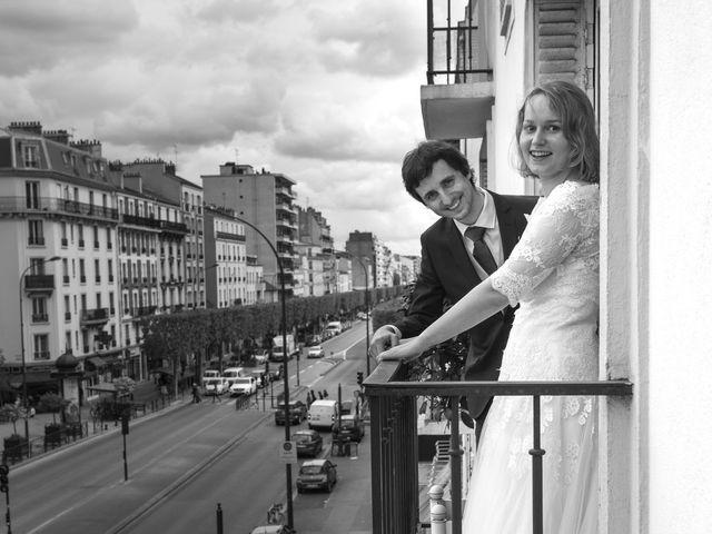 Le mariage de Jean-Baptiste et Claire à Paris, Paris 14