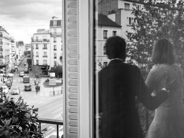 Le mariage de Jean-Baptiste et Claire à Paris, Paris 15