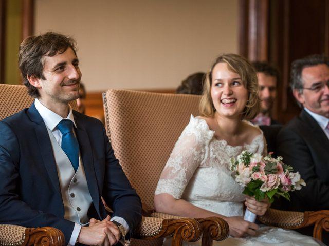 Le mariage de Jean-Baptiste et Claire à Paris, Paris 18