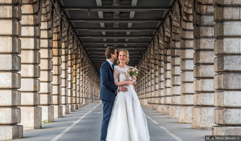 Le mariage de Jean-Baptiste et Claire à Paris, Paris