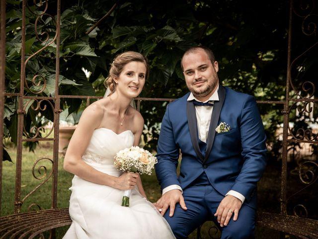 Le mariage de Damien et Elodie à L'Isle-Jourdain, Gers 82