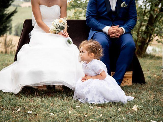 Le mariage de Damien et Elodie à L'Isle-Jourdain, Gers 121