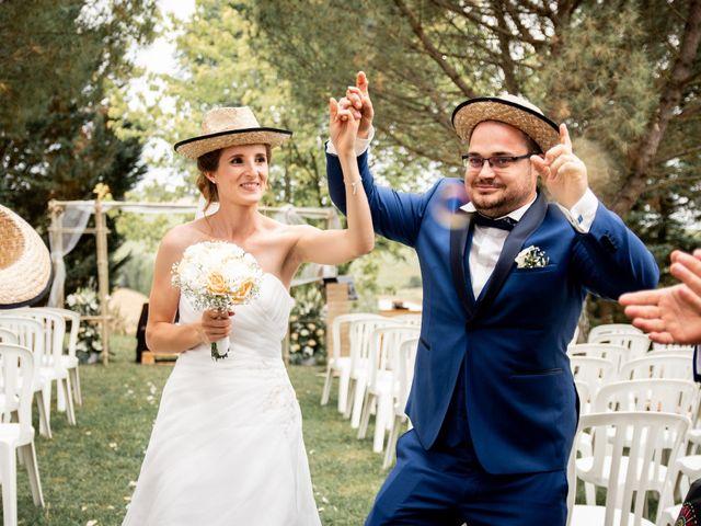 Le mariage de Damien et Elodie à L'Isle-Jourdain, Gers 134