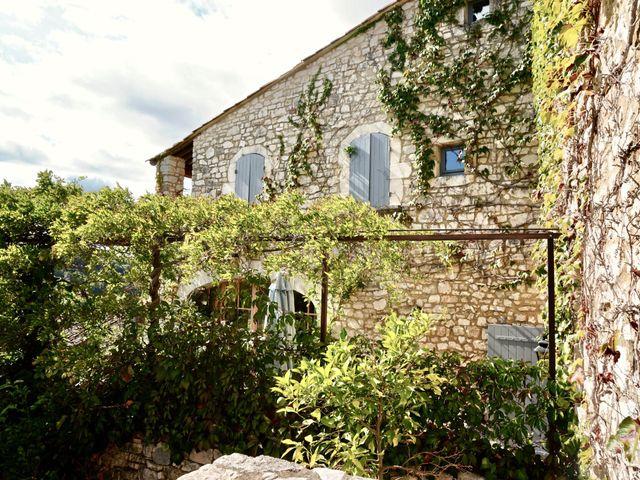 Le mariage de Mat et Lauren à Saint-Christol-de-Rodières, Gard 3