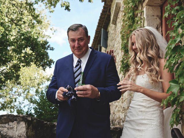 Le mariage de Mat et Lauren à Saint-Christol-de-Rodières, Gard 8