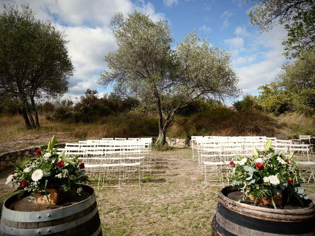 Le mariage de Mat et Lauren à Saint-Christol-de-Rodières, Gard 19