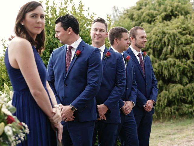 Le mariage de Mat et Lauren à Saint-Christol-de-Rodières, Gard 23