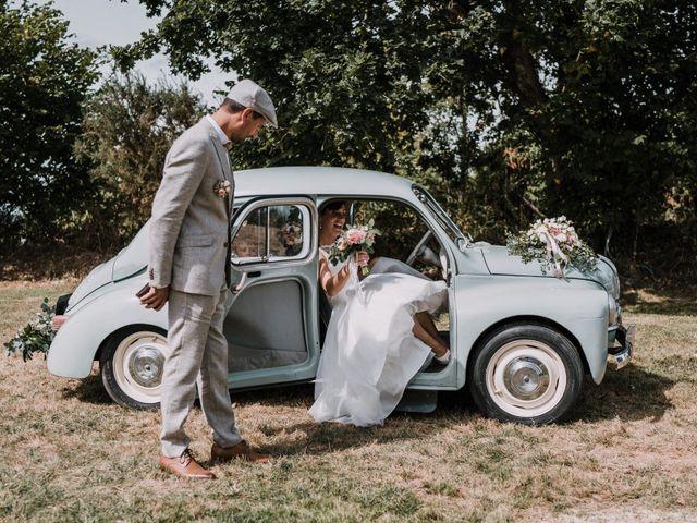 Le mariage de Nicolas et Sabrina à Plouégat-Moysan, Finistère 3
