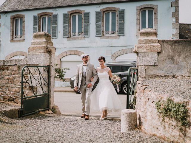 Le mariage de Nicolas et Sabrina à Plouégat-Moysan, Finistère 8