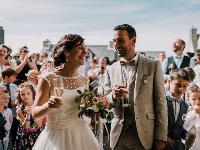 Le mariage de Nicolas et Sabrina à Plouégat-Moysan, Finistère 43