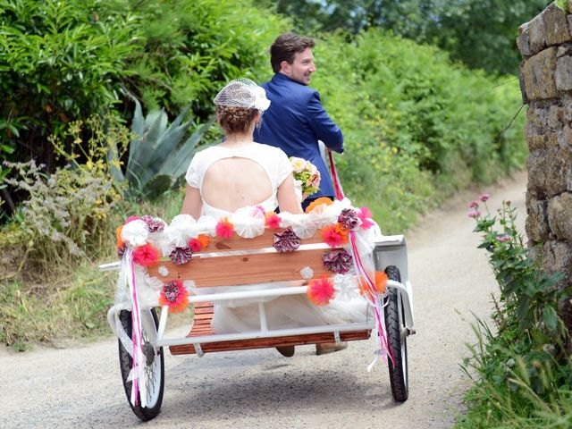 Le mariage de Romain et Alexandra à Perros-Guirec, Côtes d'Armor 11