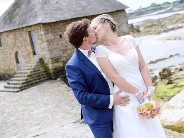 Le mariage de Romain et Alexandra à Perros-Guirec, Côtes d'Armor 12