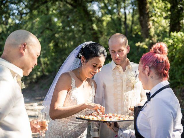 Le mariage de Cédric et Dulce à Ollières, Var 21