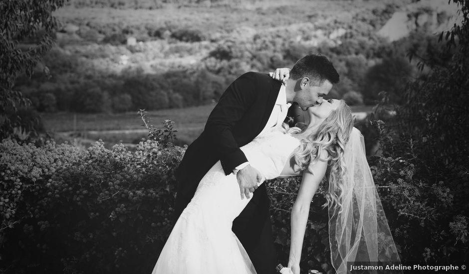 Le mariage de Mat et Lauren à Saint-Christol-de-Rodières, Gard