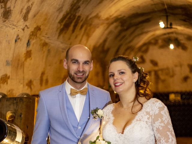 Le mariage de Mathilde et Hugues à Mailly-Champagne, Marne 94
