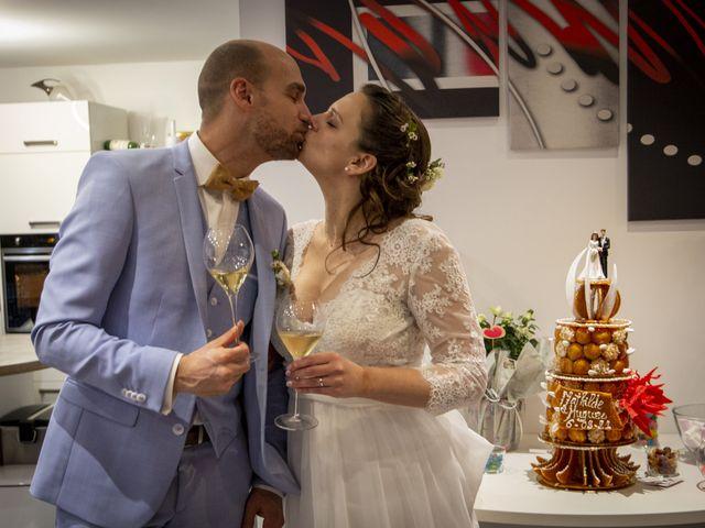 Le mariage de Hugues et Mathilde