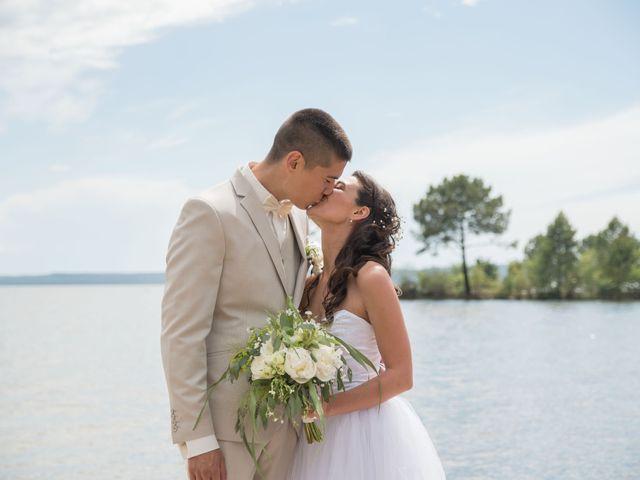 Le mariage de Alexandre et Jessica à Biscarrosse, Landes 48