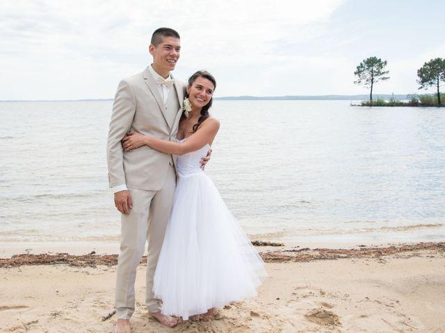 Le mariage de Alexandre et Jessica à Biscarrosse, Landes 62