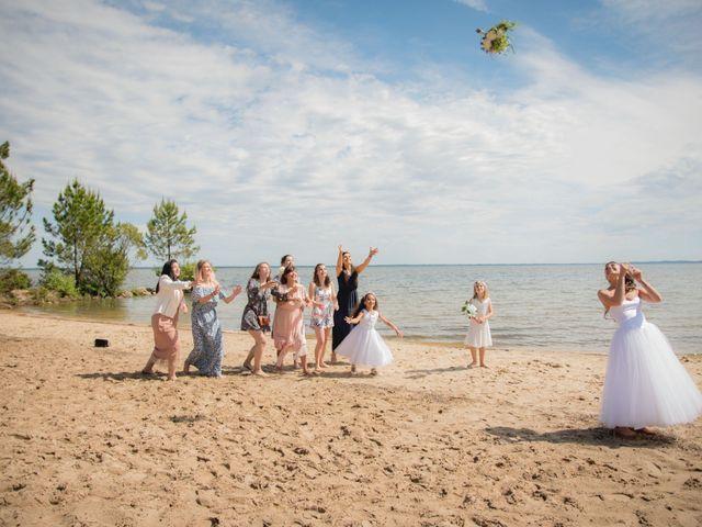 Le mariage de Alexandre et Jessica à Biscarrosse, Landes 72