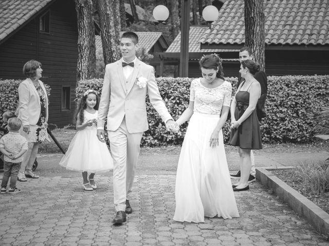 Le mariage de Alexandre et Jessica à Biscarrosse, Landes 83