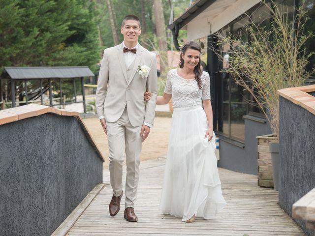 Le mariage de Alexandre et Jessica à Biscarrosse, Landes 87