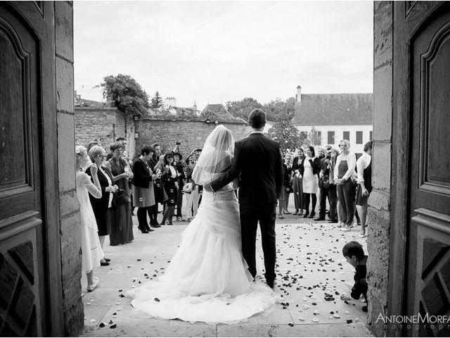 Le mariage de Ludovic et Olivia à Arnay-le-Duc, Côte d'Or 7