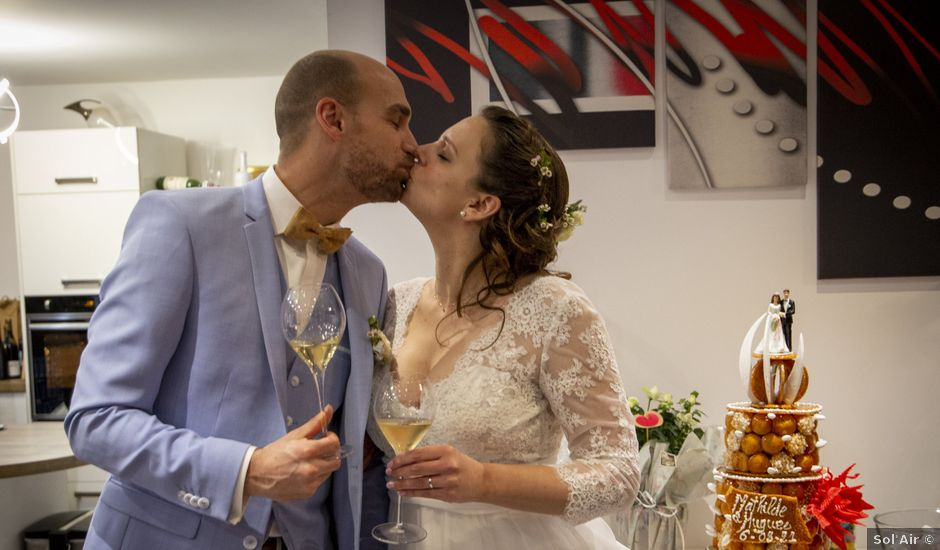 Le mariage de Mathilde et Hugues à Mailly-Champagne, Marne
