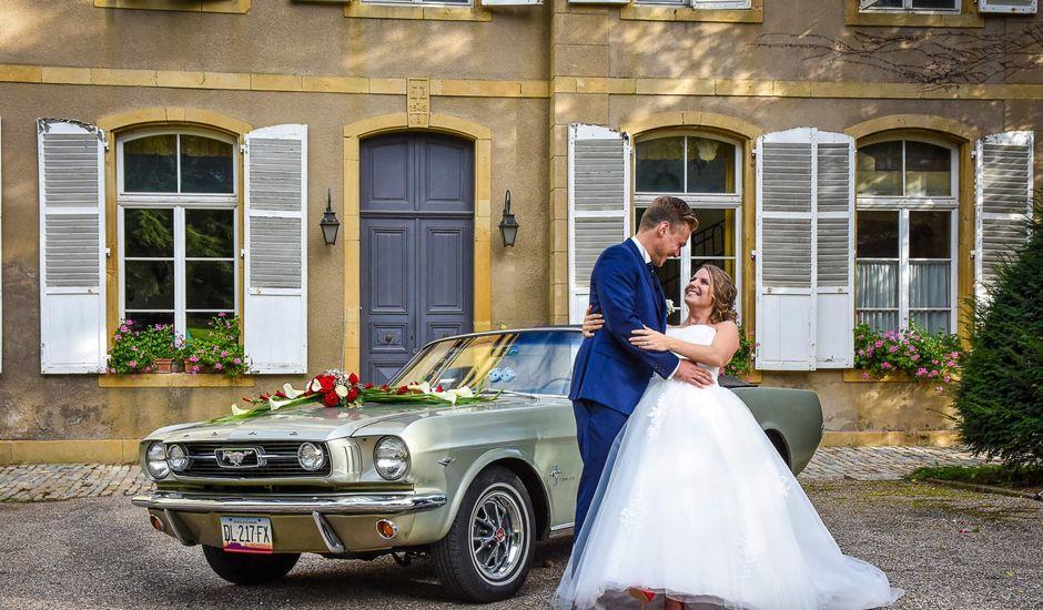 Le mariage de Laureline et Julian à Servigny-lès-Sainte-Barbe, Moselle