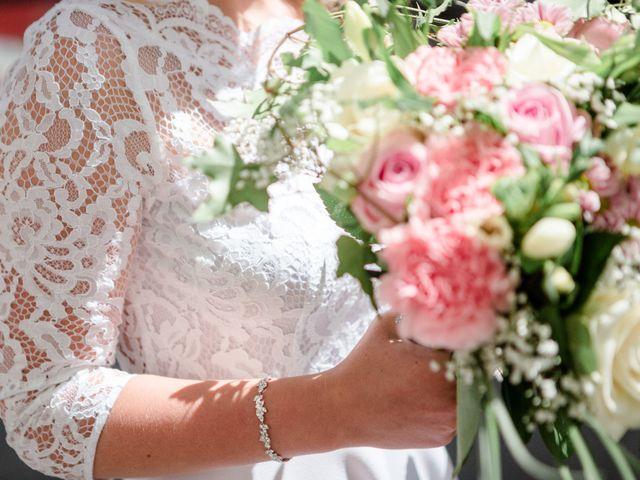 Le mariage de Taher et Adeline à La Boissière-École, Yvelines 9