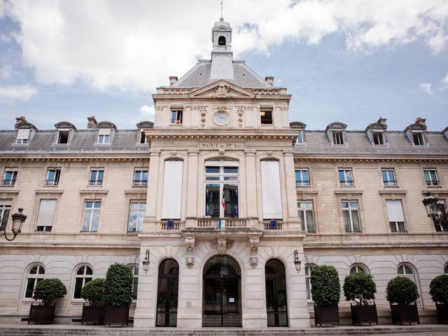 Le mariage de Taher et Adeline à La Boissière-École, Yvelines 10