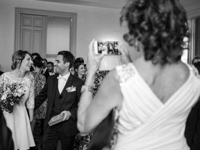 Le mariage de Taher et Adeline à La Boissière-École, Yvelines 12