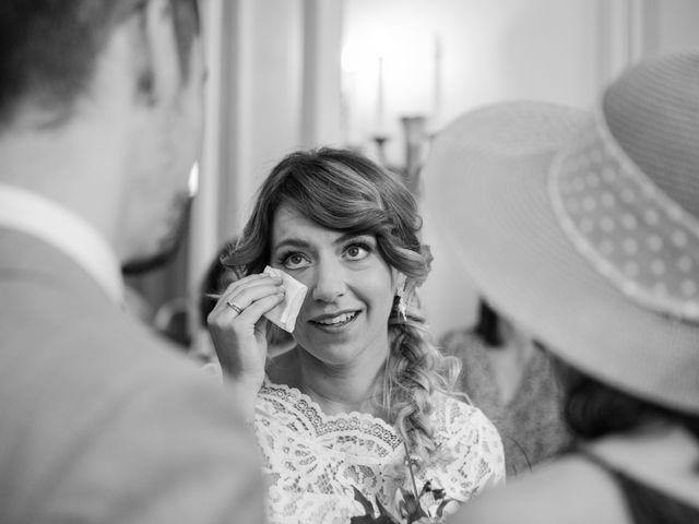 Le mariage de Taher et Adeline à La Boissière-École, Yvelines 14