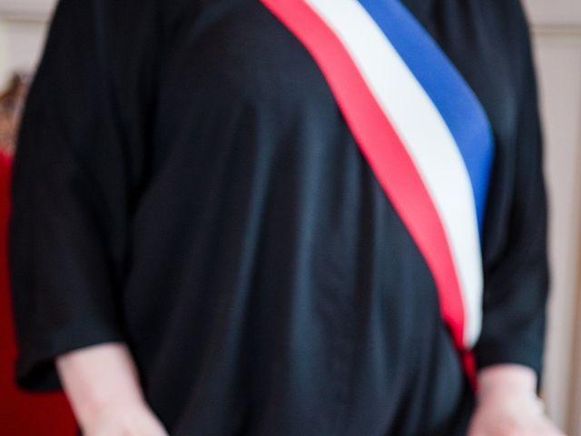 Le mariage de Taher et Adeline à La Boissière-École, Yvelines 15