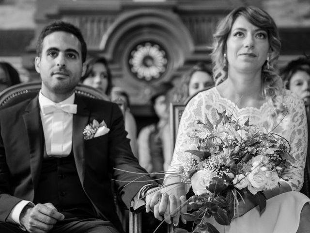 Le mariage de Taher et Adeline à La Boissière-École, Yvelines 16