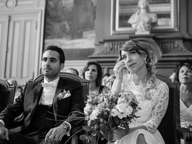 Le mariage de Taher et Adeline à La Boissière-École, Yvelines 17