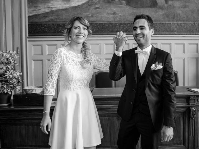 Le mariage de Taher et Adeline à La Boissière-École, Yvelines 19