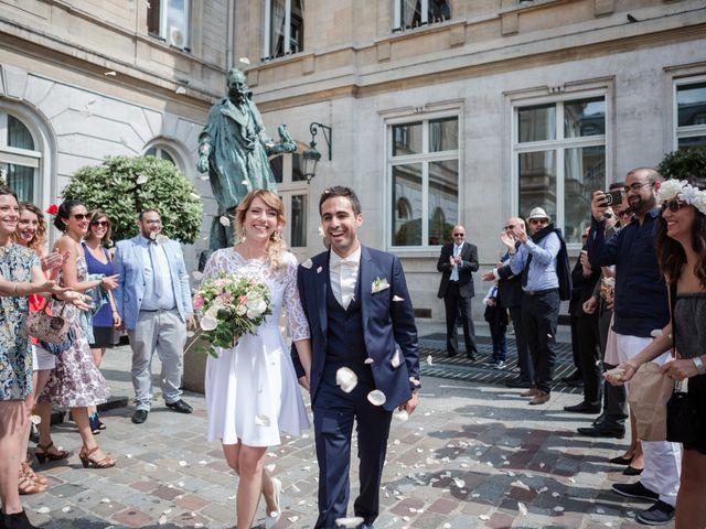 Le mariage de Taher et Adeline à La Boissière-École, Yvelines 21