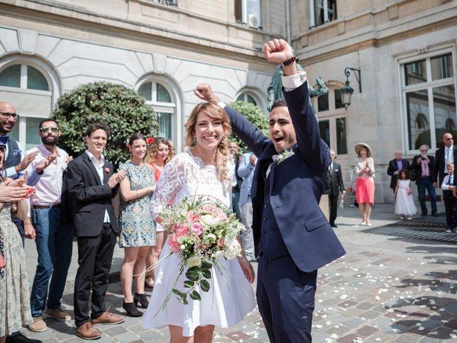 Le mariage de Taher et Adeline à La Boissière-École, Yvelines 22